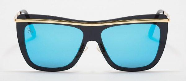 Gafas de sol para mujer con cristal azul