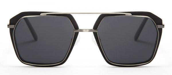 Gafas de sol de madera de ébano